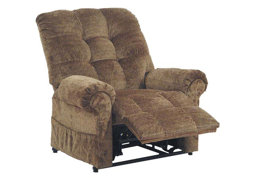 Compass furniture havana power lift full lay out chaise for Laying out living room furniture