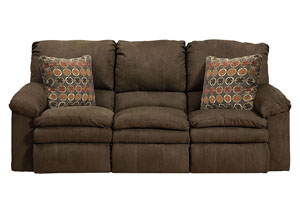 Impulse Godiva/Spice Power Reclining Sofa