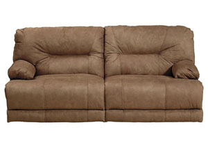 Noble Almond Lay Flat Reclining Sofa