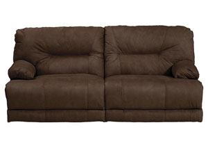 Noble Espresso Lay Flat Reclining Sofa