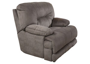 Noble Slate Lay Flat Recliner