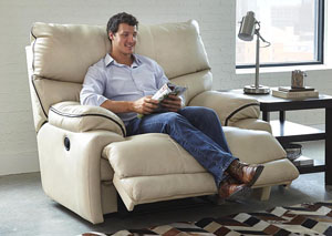 Larkin Buff Lay Flat Recliner