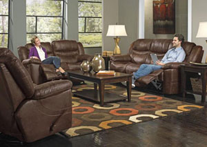 Valiant Elk Reclining Sofa & Loveseat