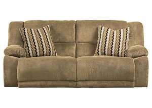 Hammond Coffee/Taupe Reclining Sofa