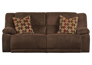 Hammond Mocha/Spice Reclining Sectional