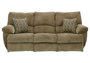 Gavin Desert/Redwood Reclining Sofa