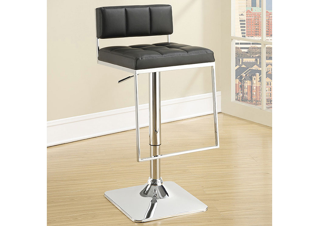 Chrome Adjustable Bar Stool,ABF Coaster Furniture