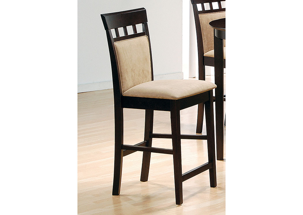 Landmark Home Furnishings Houma La Cappuccino 24 Barstool Set Of 2