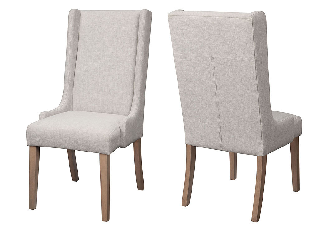 Beige Side Chair (Set of 2),Coaster Furniture