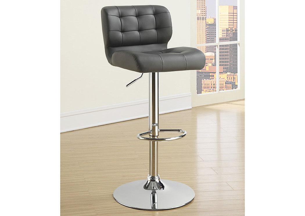 Grey Adjustable Bar Stools Set TwoABF Coaster Furniture