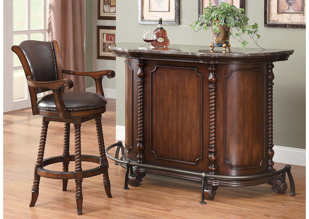 Bar Unit & Bar Stool,Coaster Furniture