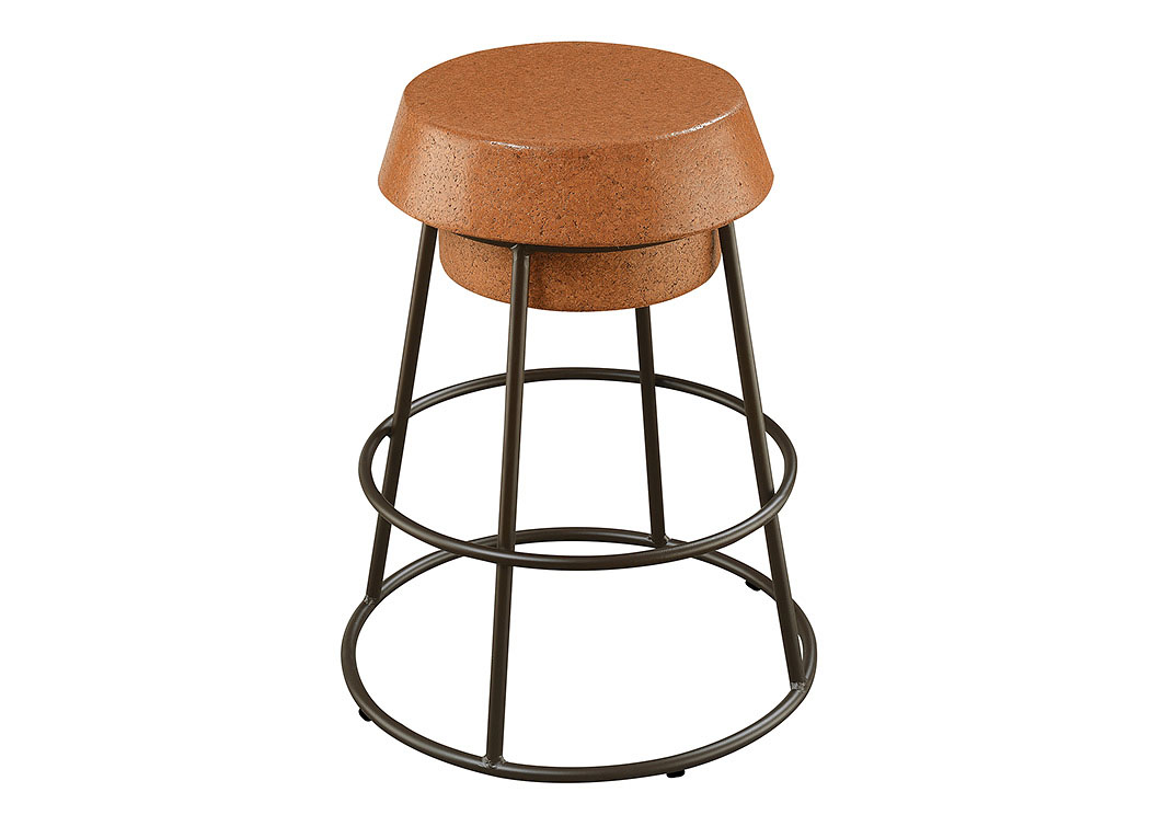 Brown/Black Counter Height Stool,Coaster Furniture