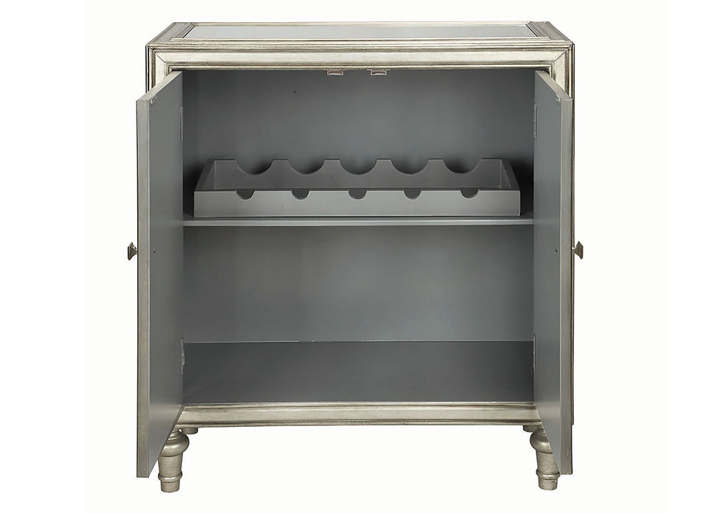 Silver Cabinet,Coaster Furniture