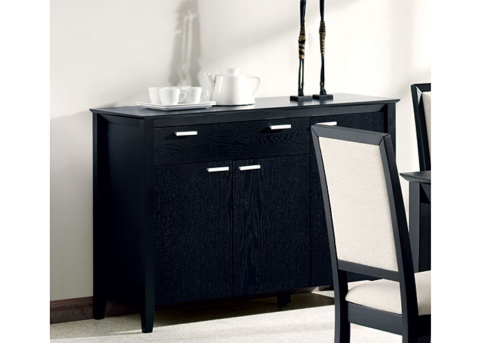 Furniture 4 less outlet lexton black server for Furniture 4 less outlet