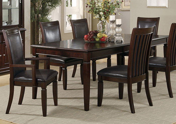 Ramona Walnut Dining Table,Coaster Furniture