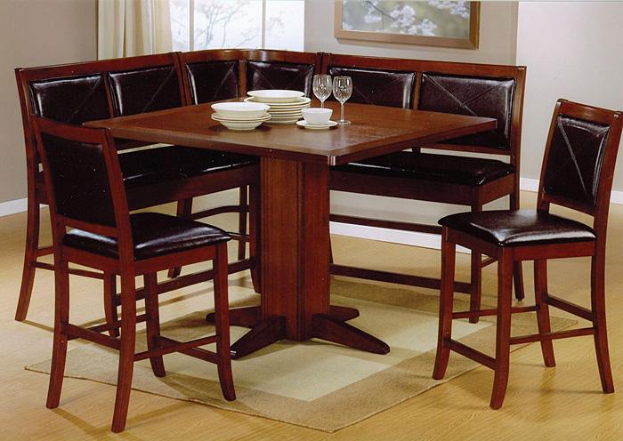 Table w 2 Bar Stools BenchCoaster Furniture