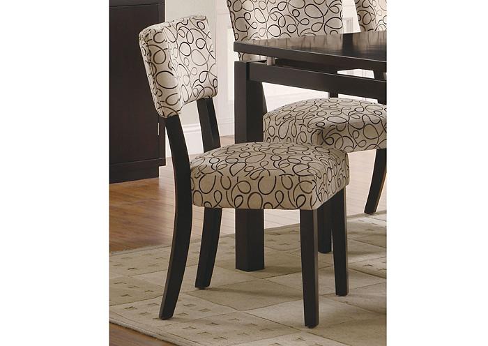 Barryu0027s Furniture   Jasper, AL Libby Tan U0026 Cappuccino Side Chair (Set Of 2)