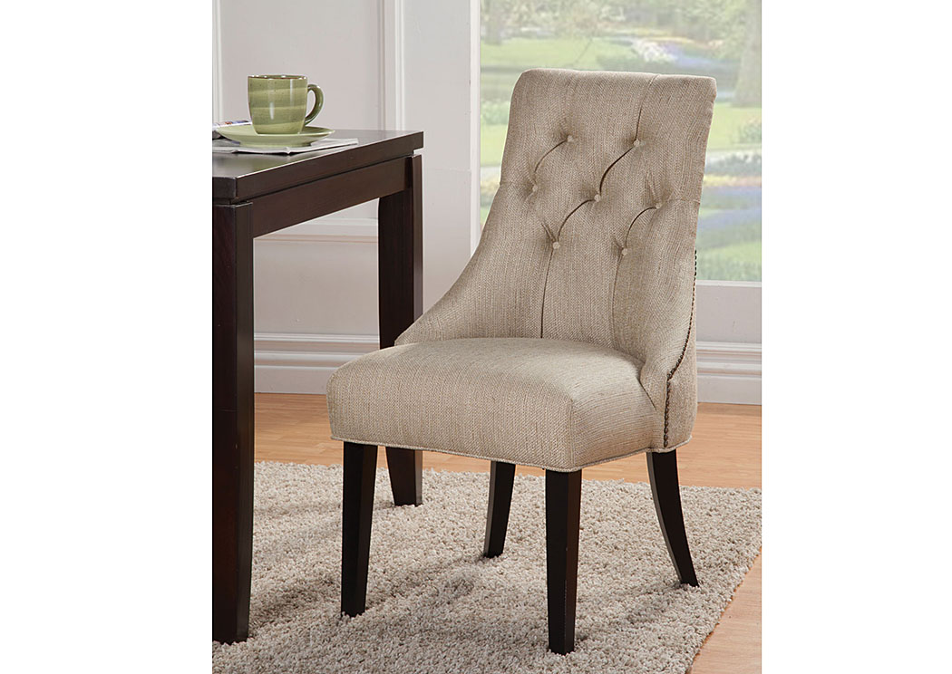 Accent Tufted Side Chair,ABF Coaster Furniture