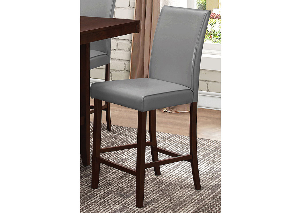 Harlem Furniture Walnut Counter Height Chair Set Of 2