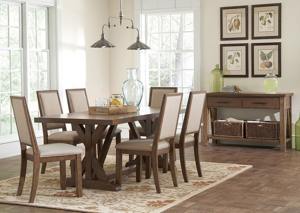 furniture dining room dining table w 4 side chairs server