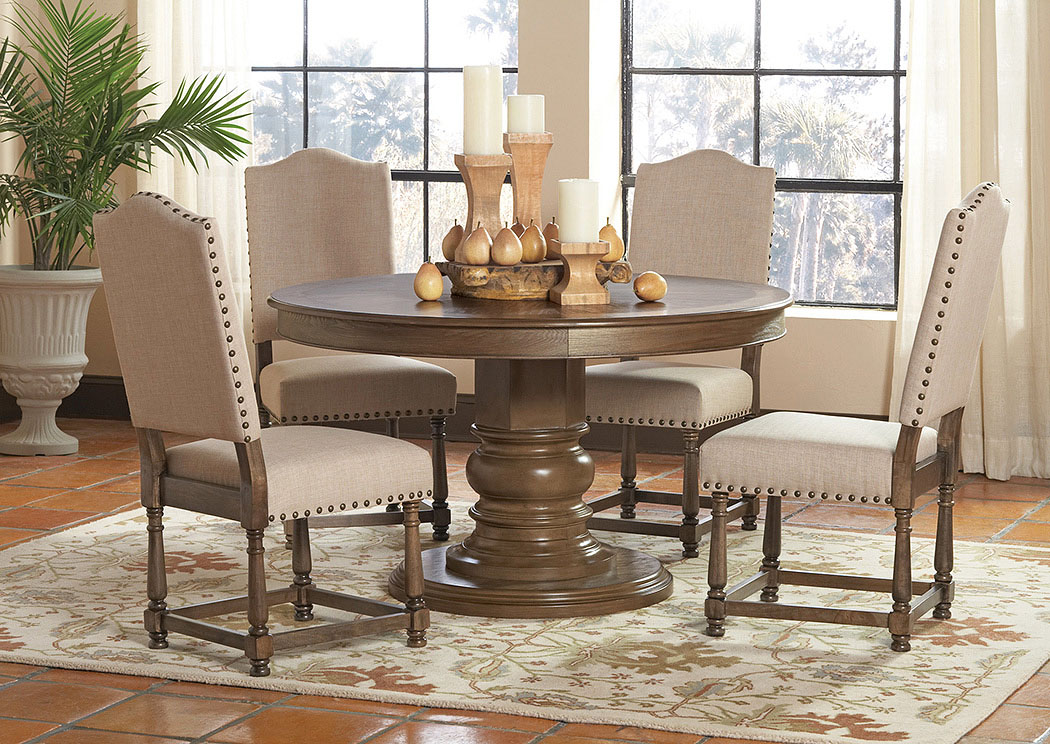 Dining Table W/4 Dining Chairs,Coaster Furniture