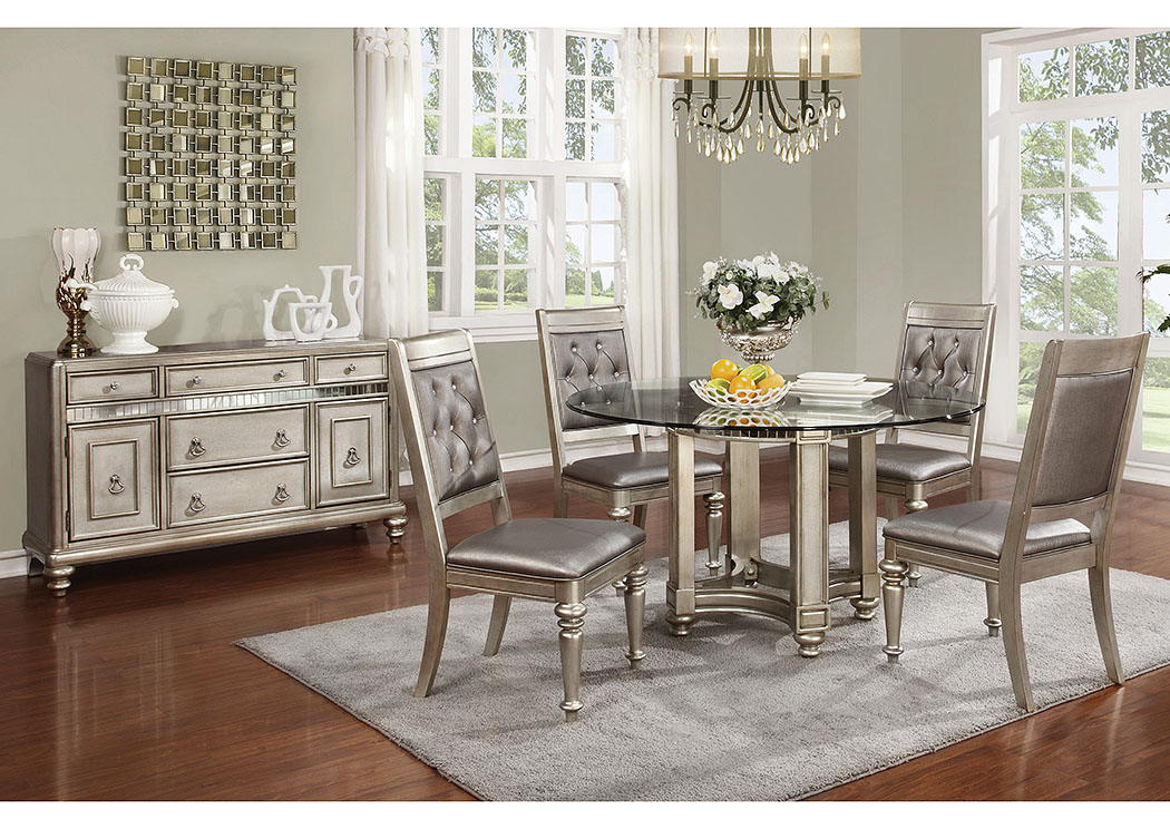 Round Dining Table w 4 Side Chairs Coaster Furniture. Leonardo Furniture   Rockville Center  NY Round Dining Table w 4