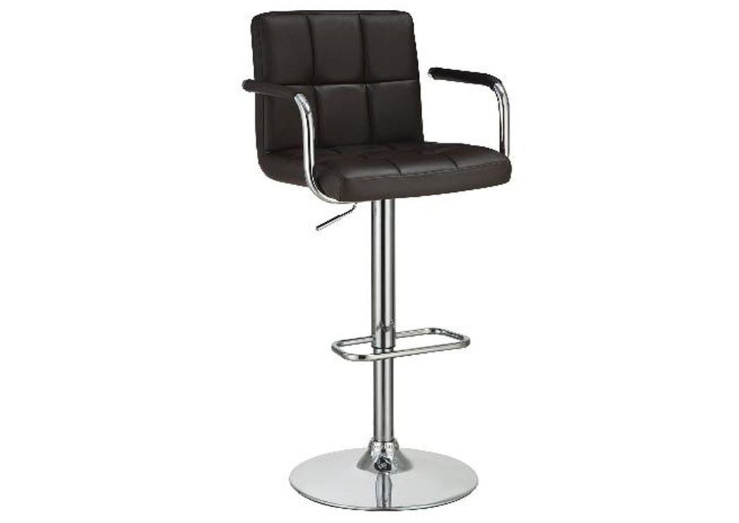 Brown Adjustable Bar Stool,Coaster Furniture
