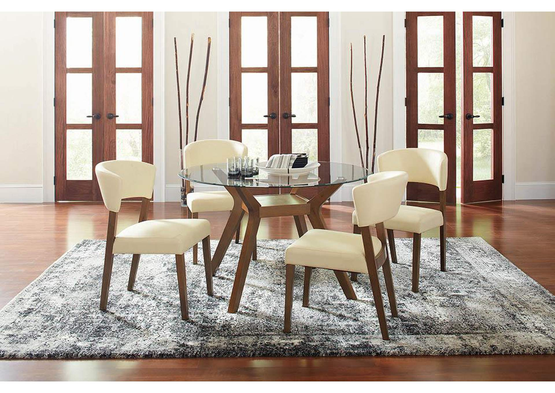 Big Box Furniture Discount Furniture Stores In Miami Florida Walnut Side Chair Set Of 2