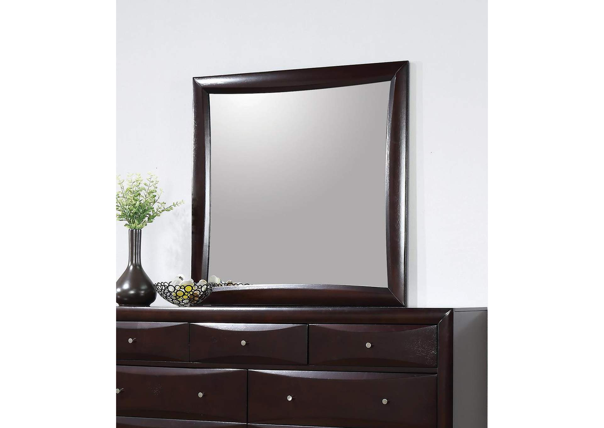 Phoenix Cappuccino Mirror,ABF Coaster Furniture