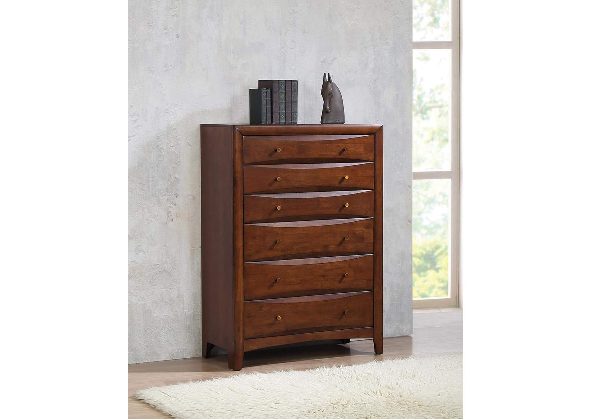 Hillary Walnut Chest,Coaster Furniture