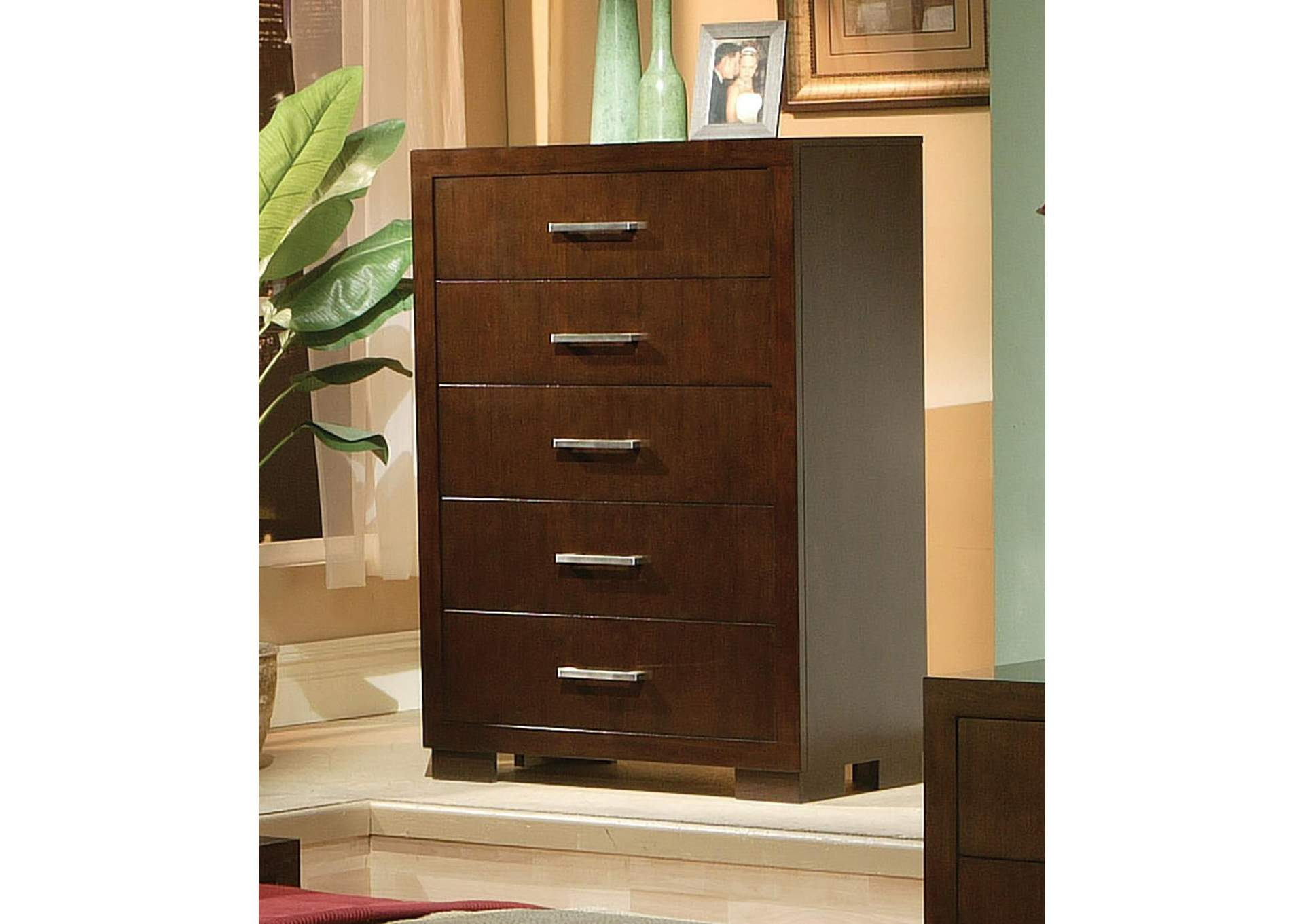 Jessica Cappuccino Chest,Coaster Furniture