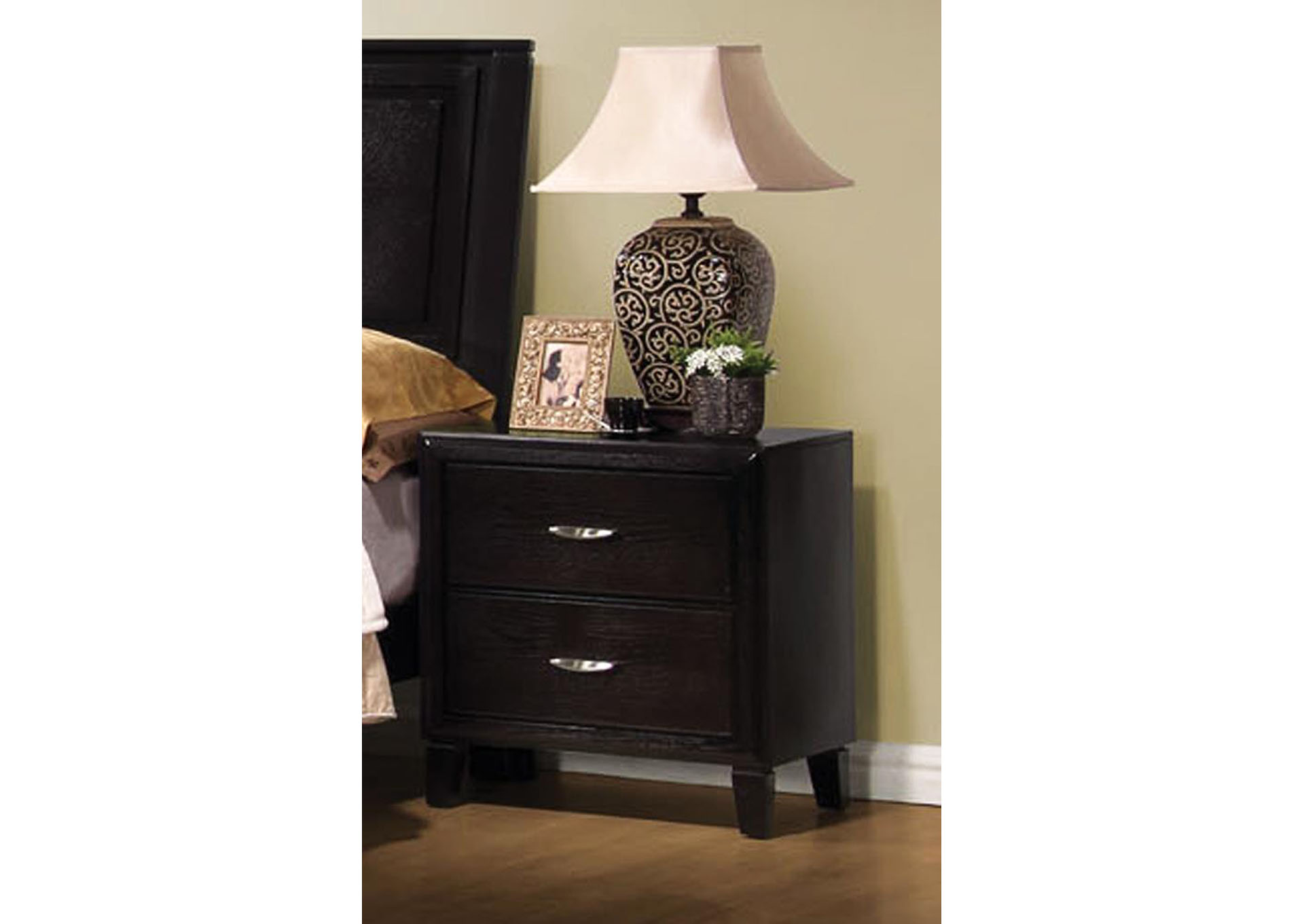 Davis Home Furniture Asheville Nc Nacey Cappucino Nightstand