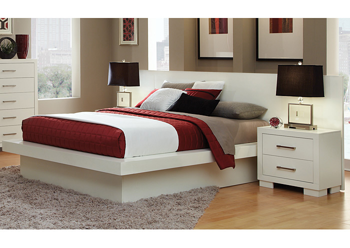 Jessica White King Bed,Coaster Furniture