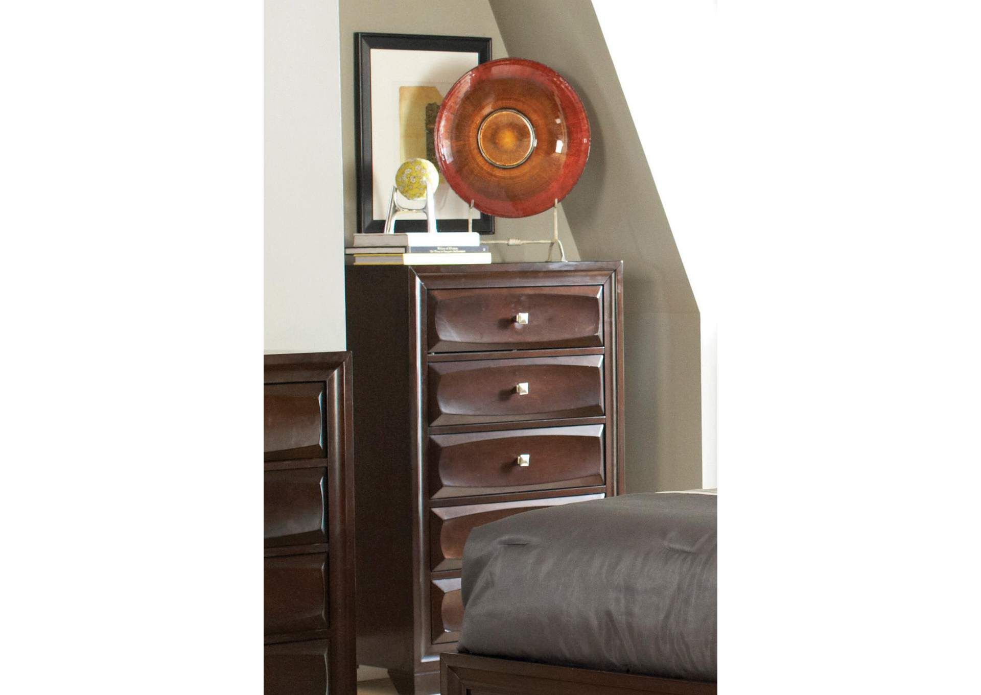 Harlem Furniture Brown Cappuccino Chest
