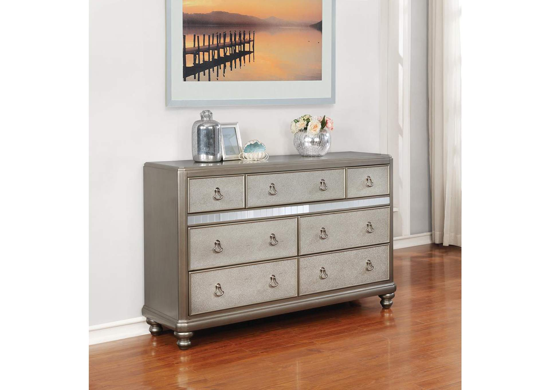 Metallic Platinum Dresser,Coaster Furniture