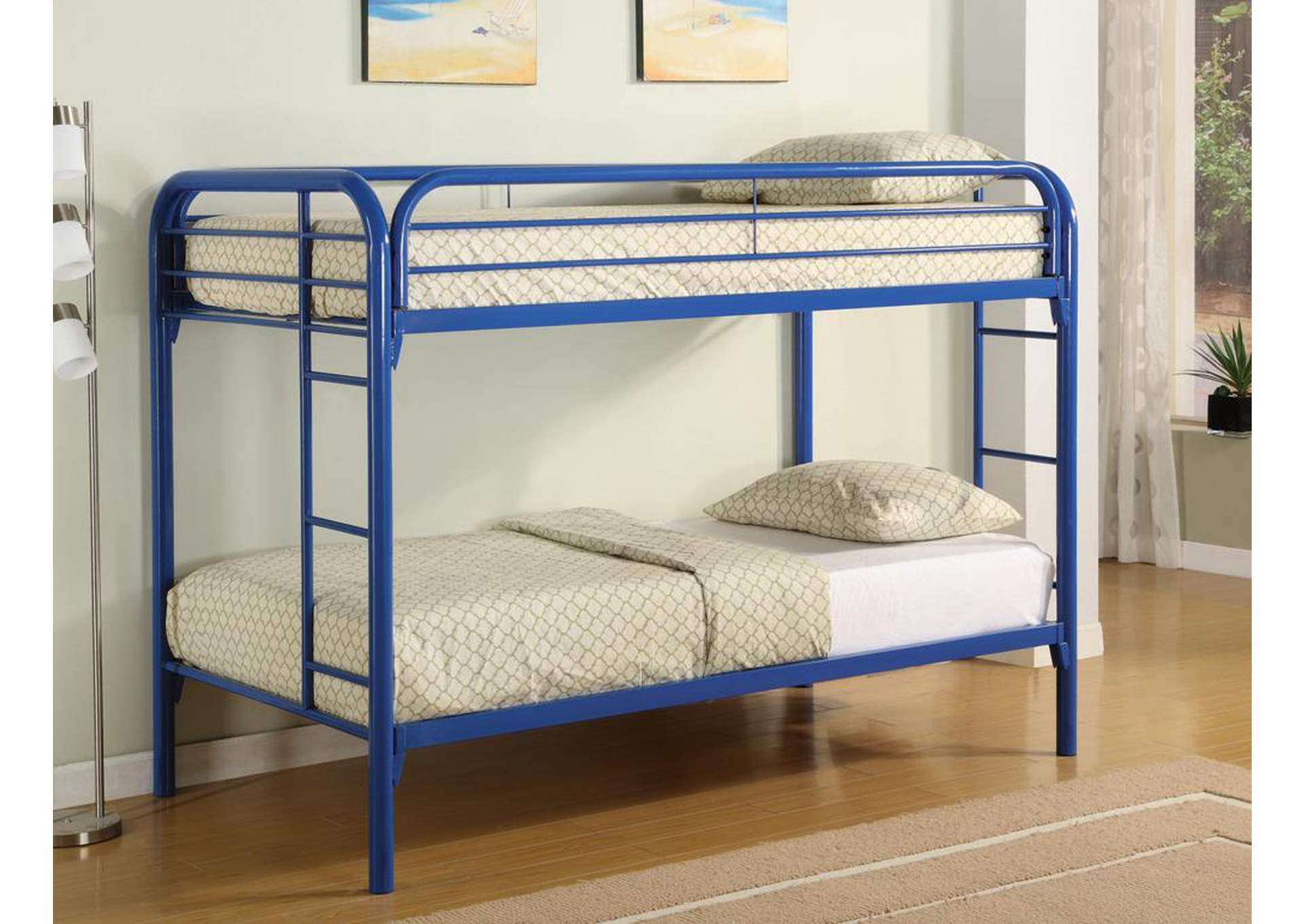 Twin/Twin Bunkbed (Metal),ABF Coaster Furniture