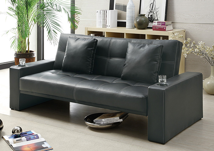Black Sofa Bed,ABF Coaster Furniture