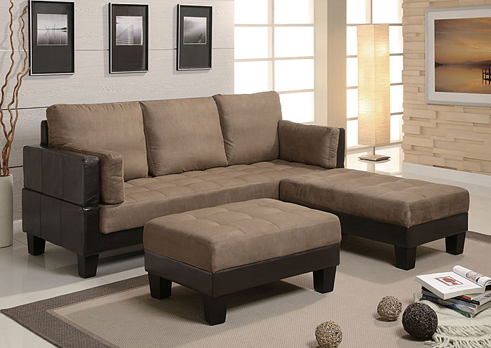 HD Furniture East Orange NJ Tan Sofa Bed