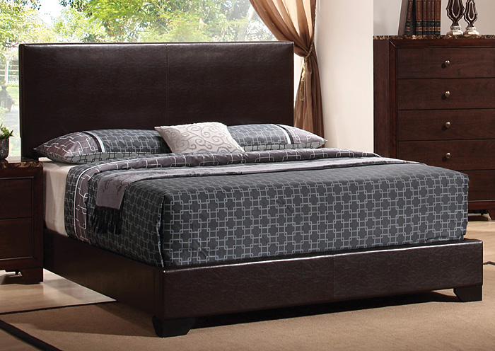 Conner Brown & Brown Queen Bed,Coaster Furniture