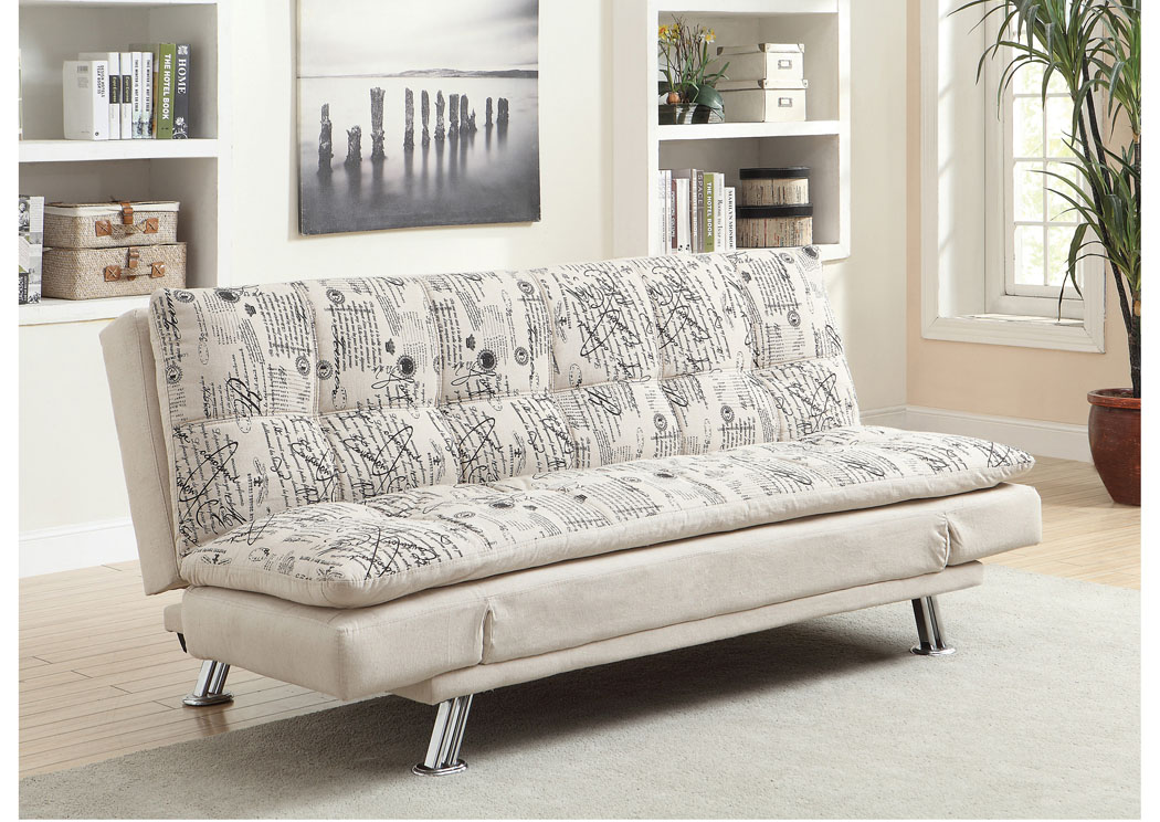 Beige Sofa Bed,Coaster Furniture