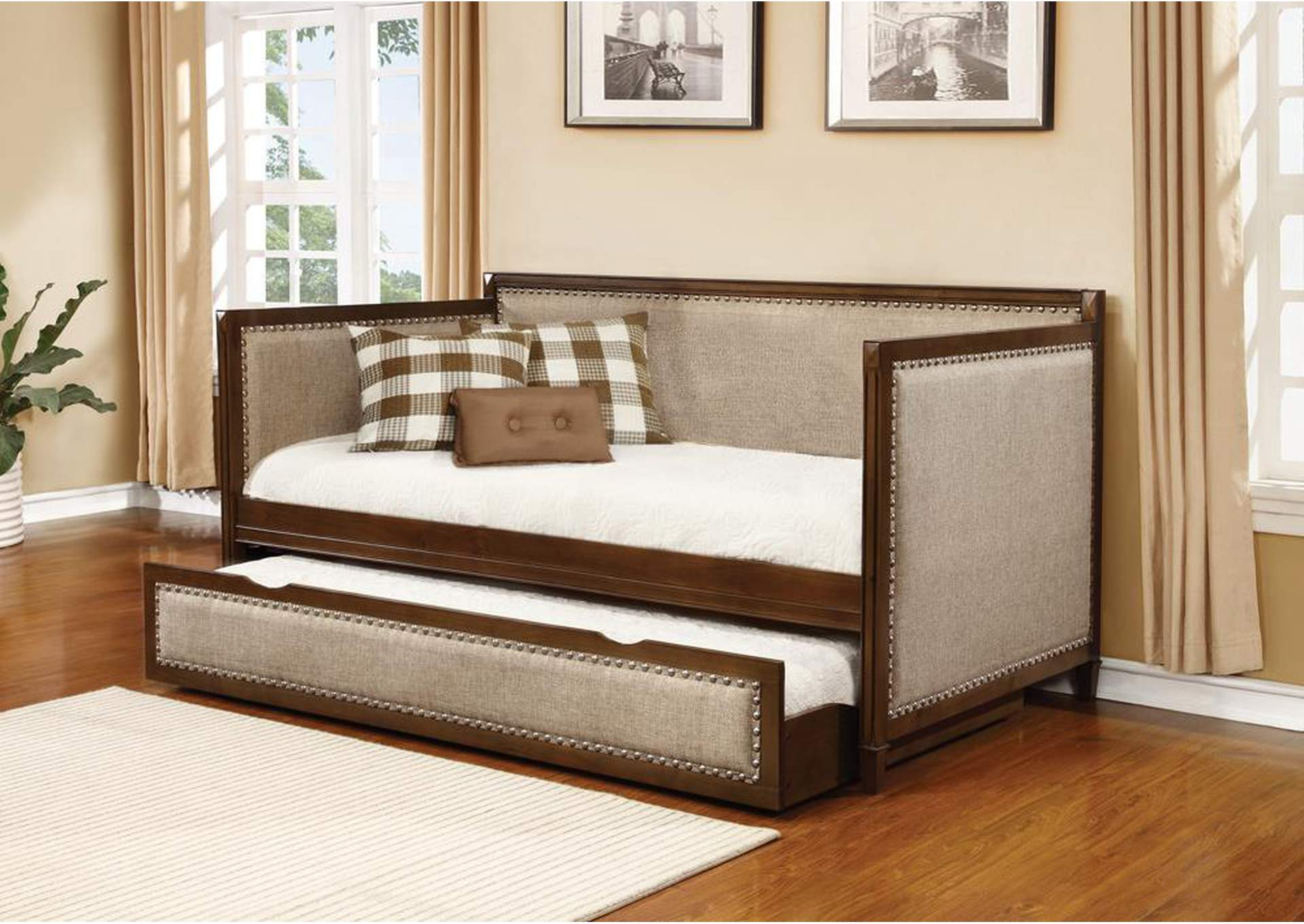 Rich Amber Daybed,Coaster Furniture