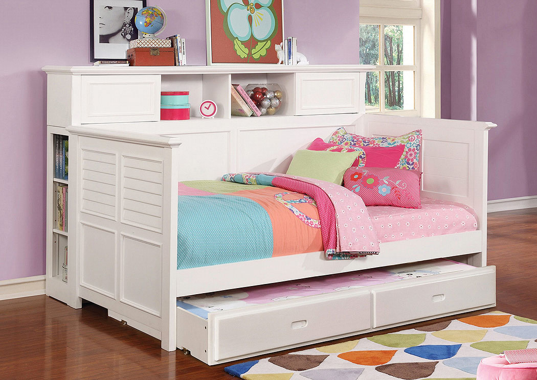 Discount Furniture Stores In Miami, Key Largo To Key West, Pembroke Pines  White Daybed