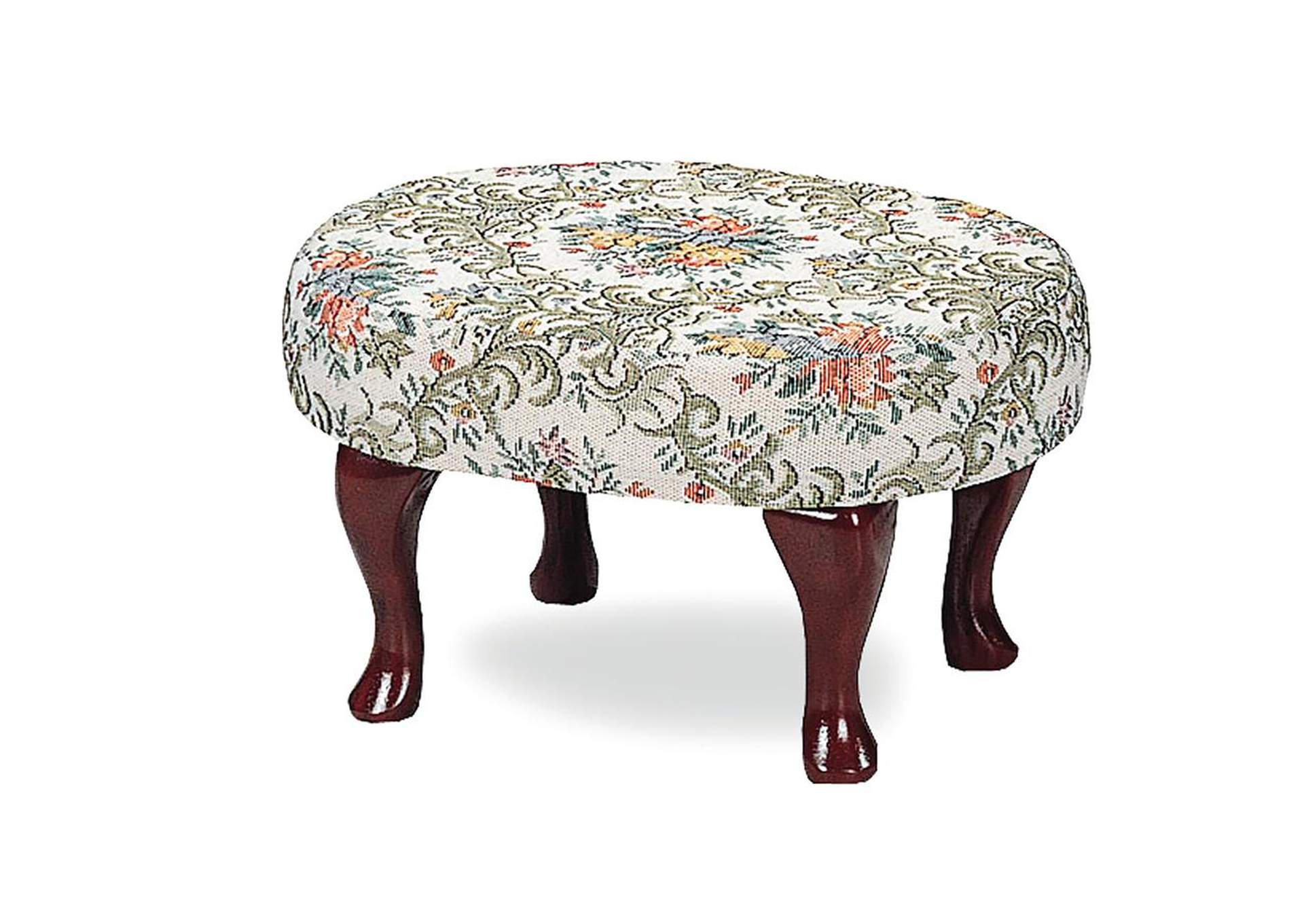 Multi Color & Cherry Ottoman,ABF Coaster Furniture