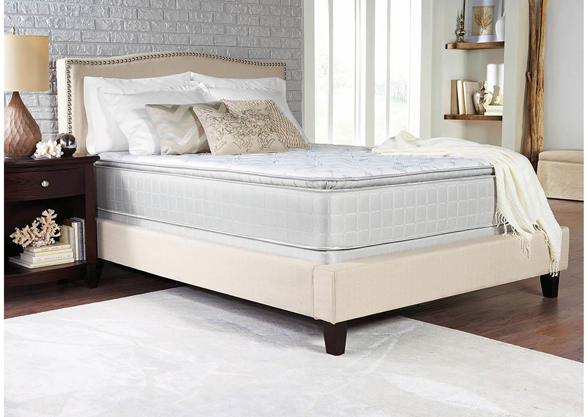 Marbella Pillow Top Twin Mattress,ABF Coaster Furniture