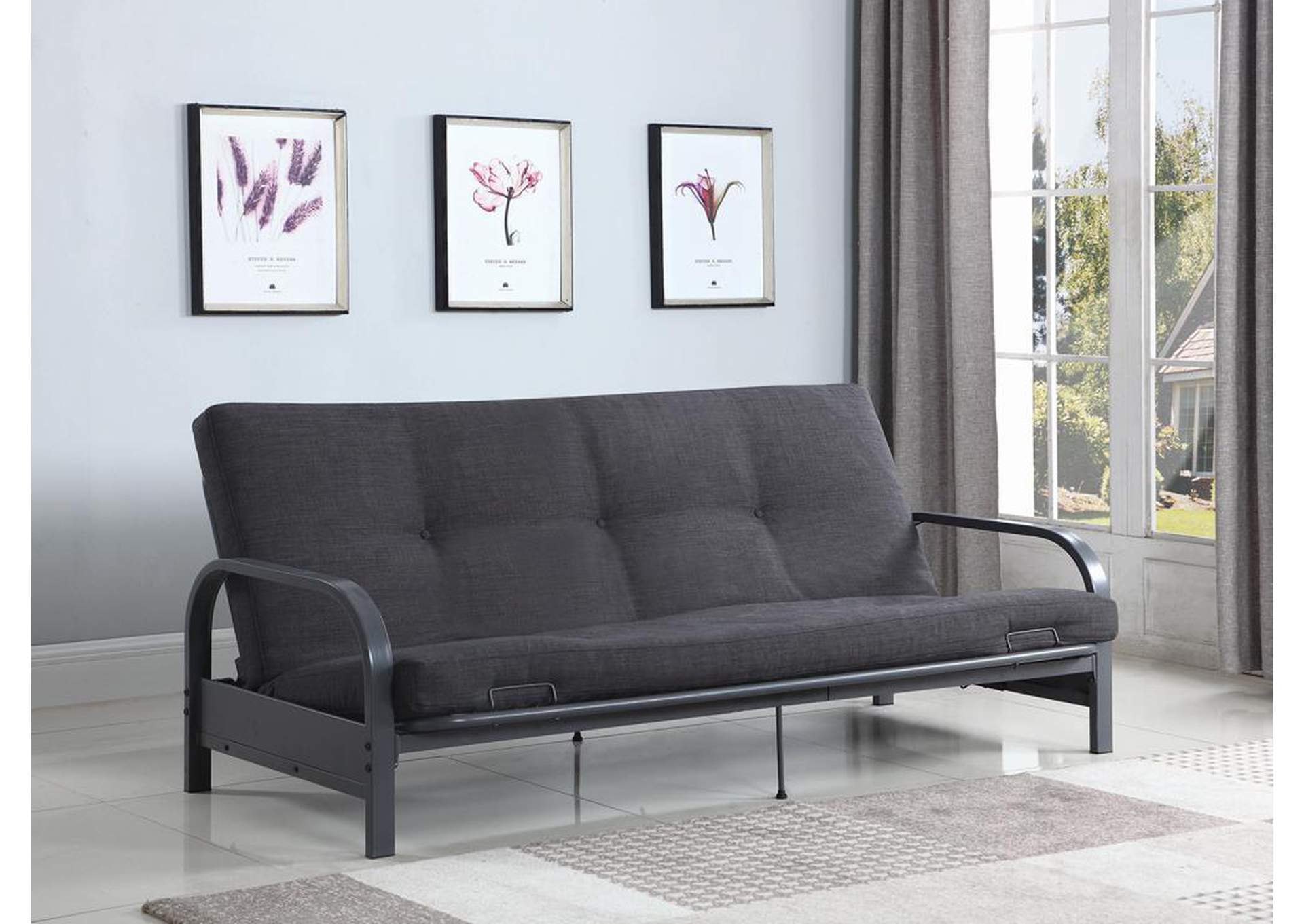 Gray Futon,Coaster Furniture