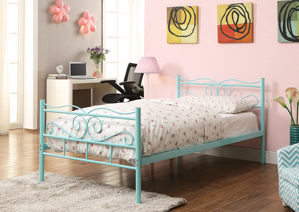 Etonnant Find Outstanding Furniture Deals In Arlington Heights, IL Mint Green Twin  Bed