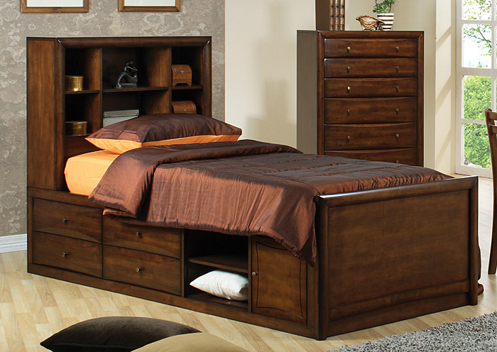 Scottsdale Walnut Twin Chestbed,Coaster Furniture