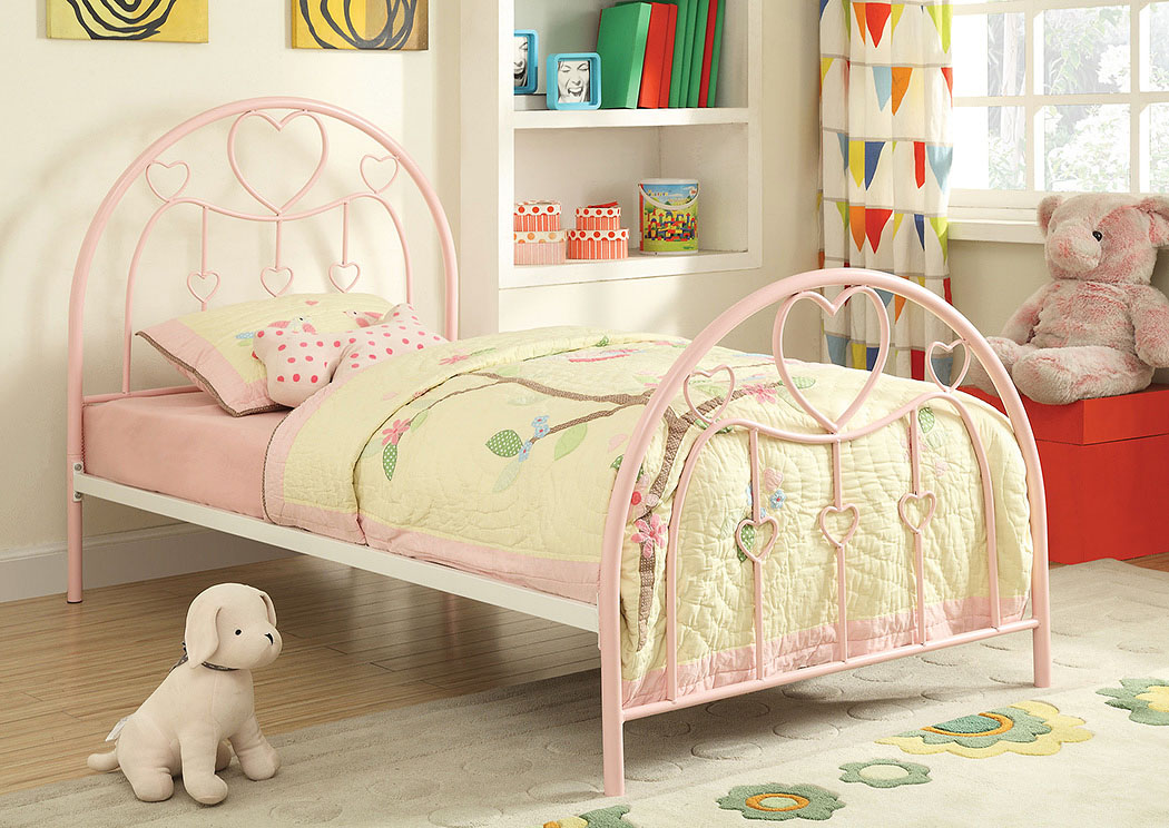 Incroyable Find Outstanding Furniture Deals In Arlington Heights, IL Juliette Sandy  Yellow U0026 Pink Twin Bed