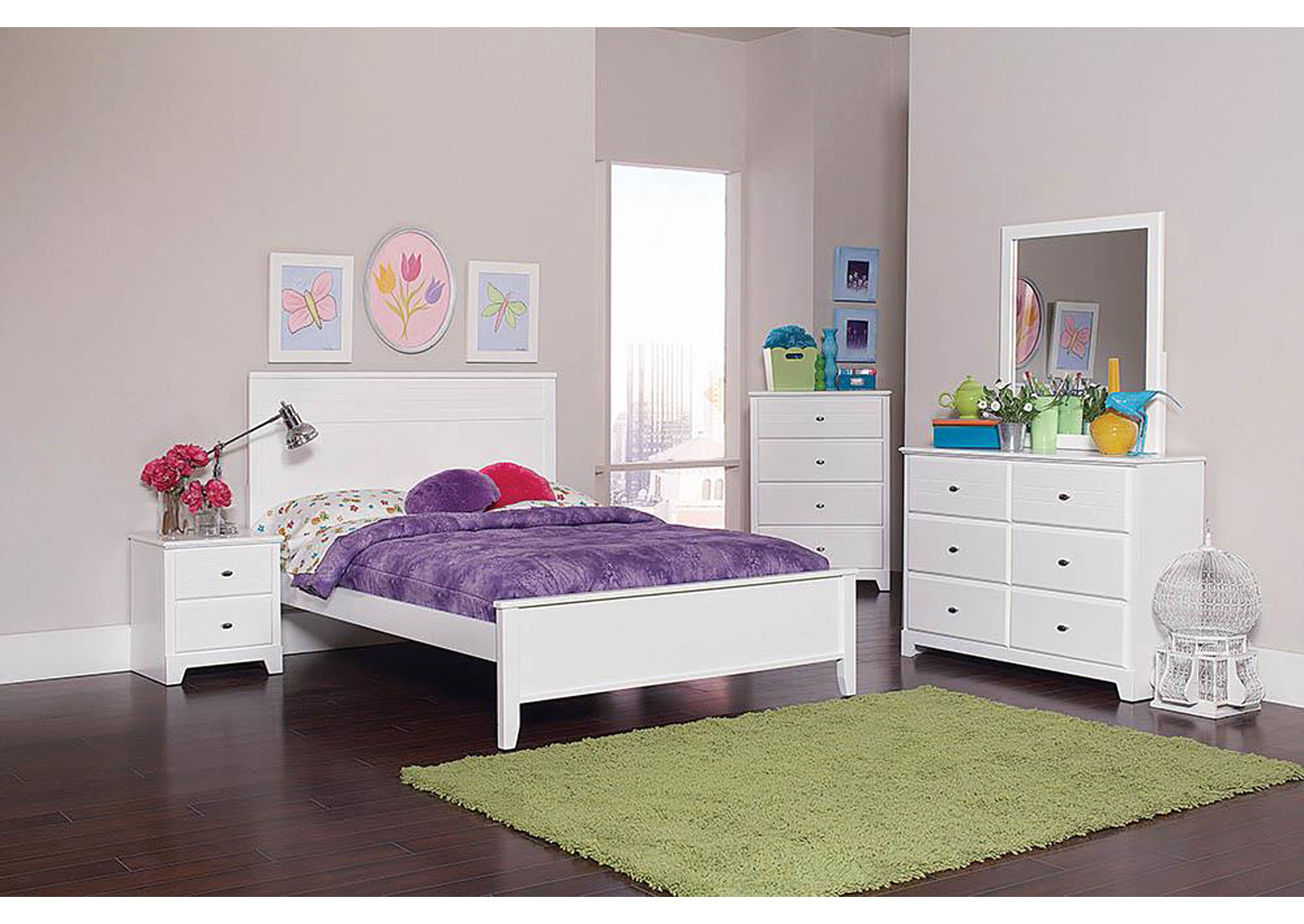 Best Buy Furniture And Mattress White Full Bed