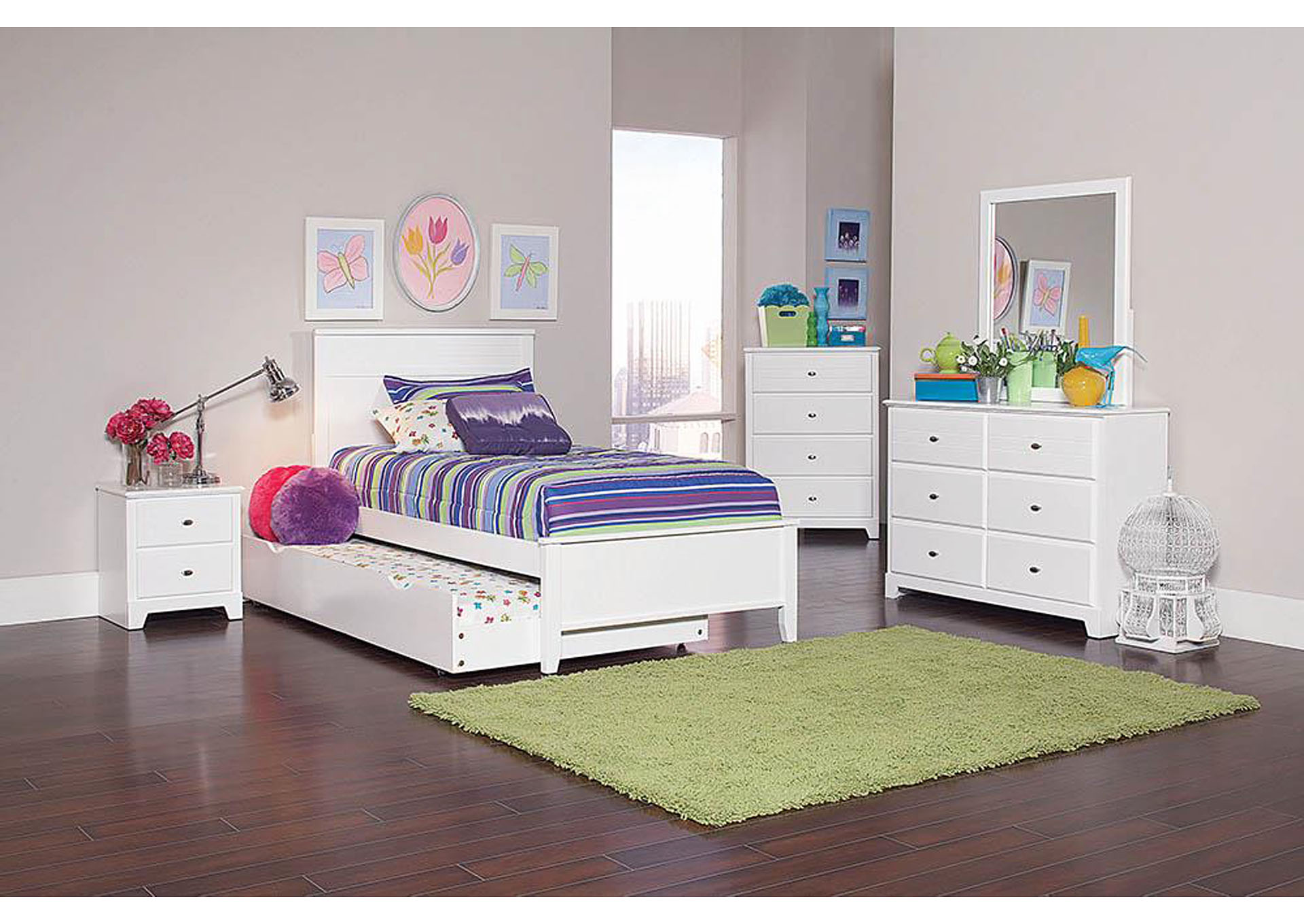Big box furniture discount furniture stores in miami for Cheap white twin bed